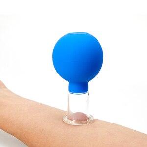 Резиновый вакуумный разделочные доски массаж лица чашки лифтинг кожи антицеллюлитный банок вакуумная фляга медицинский китайские Банки для терапии