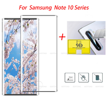 2-in-1 Note10+ Tempered Glass for Samsung Galaxy Note 10 Plus Camera Screen Protector on For Samsung Note 10 Pro Protective Film стоимость