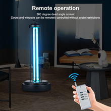 Disinfection lamp UVC Sterilizer With Remote  Home Furnishing decoration Protective Equipment  Portable US/EU plug Light 38W