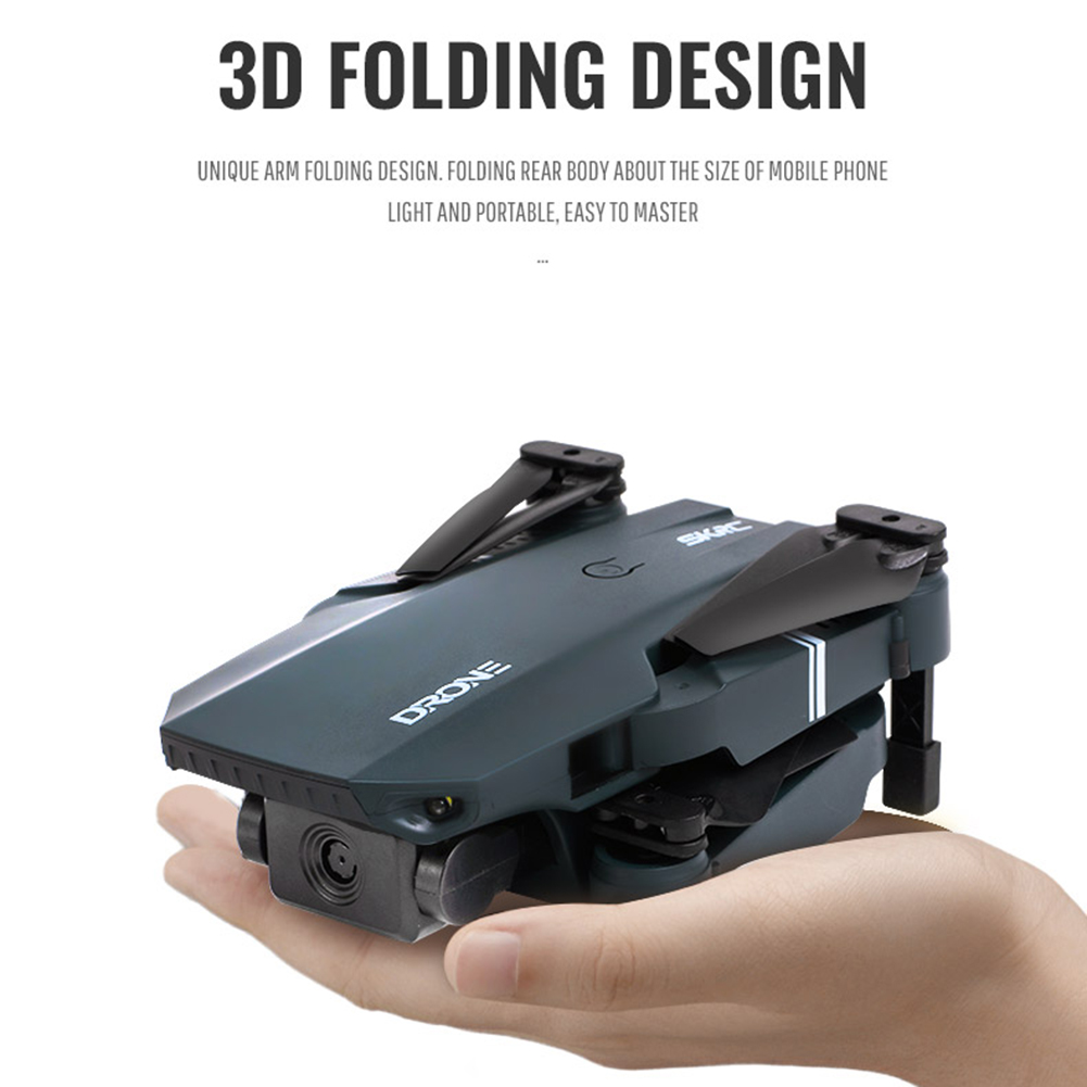 lowest price Willkey S107 Drone Quadcopter 3D 4K HD Dual Camera Visual Positioning 720P WiFi FPV Drone Height Preservation Dron Child Gift