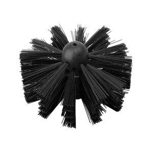 Image 2 - 1 conjunto de escova de náilon com 6 pçs cabo longo flexível tubo hastes para chaminé chaleira casa limpeza kit ferramenta