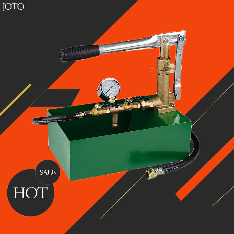 Test Pump Water Pressure Test Pump Manual Powered Hydraulic Pump ...