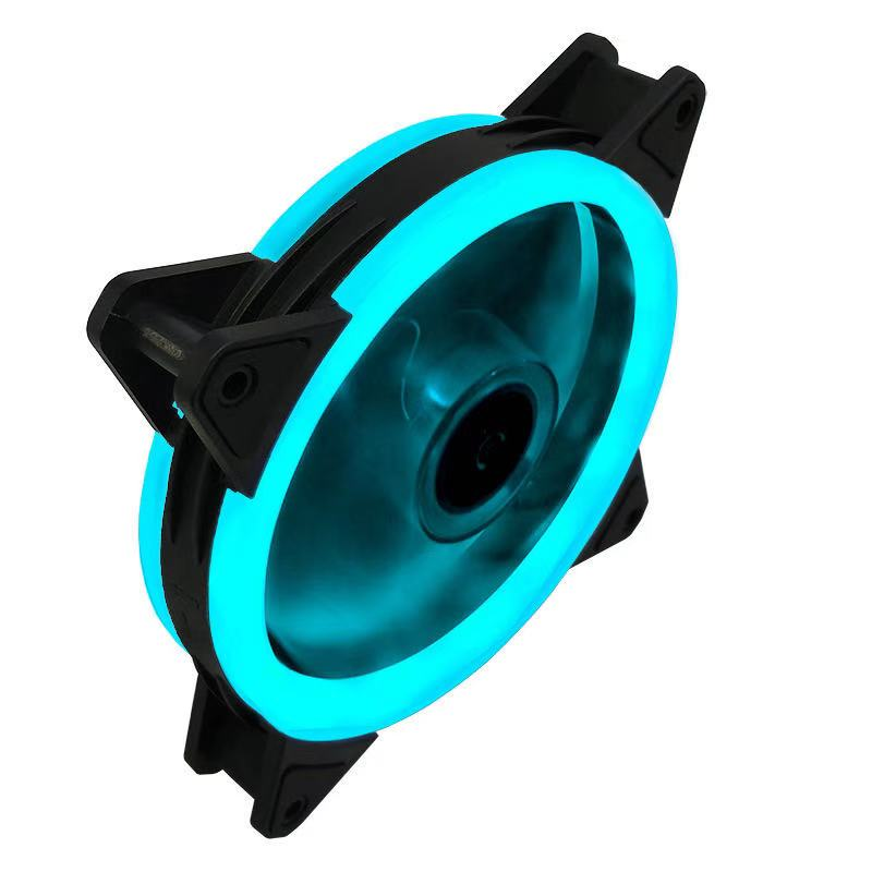 Case Fan  120mm 3pin Colorful Blue Red White Green  Bearing LED Computer Cooling Fan Radiator Ventilador 4