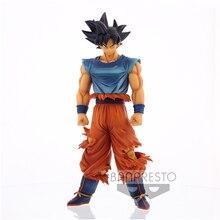 Original Banpresto Anime D B Z Grandista Nero Goku Ultra Instinct Action Figure Collection Model Toys Figurals Brinquedos 30cm