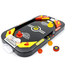 Мини-стол для хоккея на воздухе, настольный бой 2 в 1, хоккейная игра для отдыха, Детская образовательная интерактивная игрушка, детский подарок, крытая игра