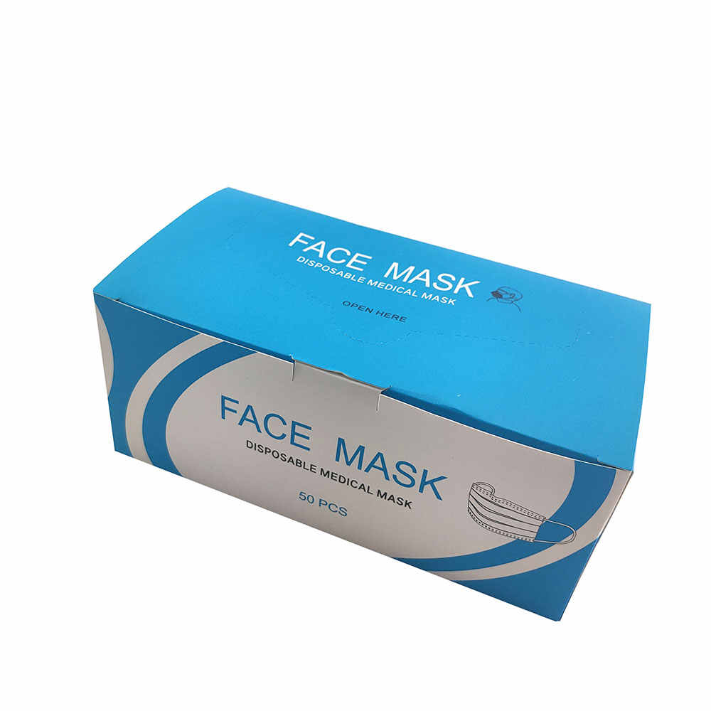 disposable face mask surgical box of 50 95% medical ear loop mouth