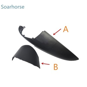 Image 2 - Soarhorse Car Side door Rearview mirror Lower covers Wing mirror Shell housing Cap For Mazda 6 Atenza