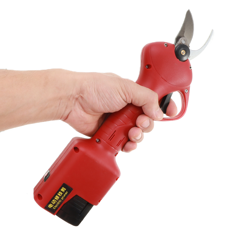 Electric Pruning Shears 16.8V Cordless Tungsten Steel Garden Cutter Pruning Tools Branches Cutter Rechargeable Lithium Battery