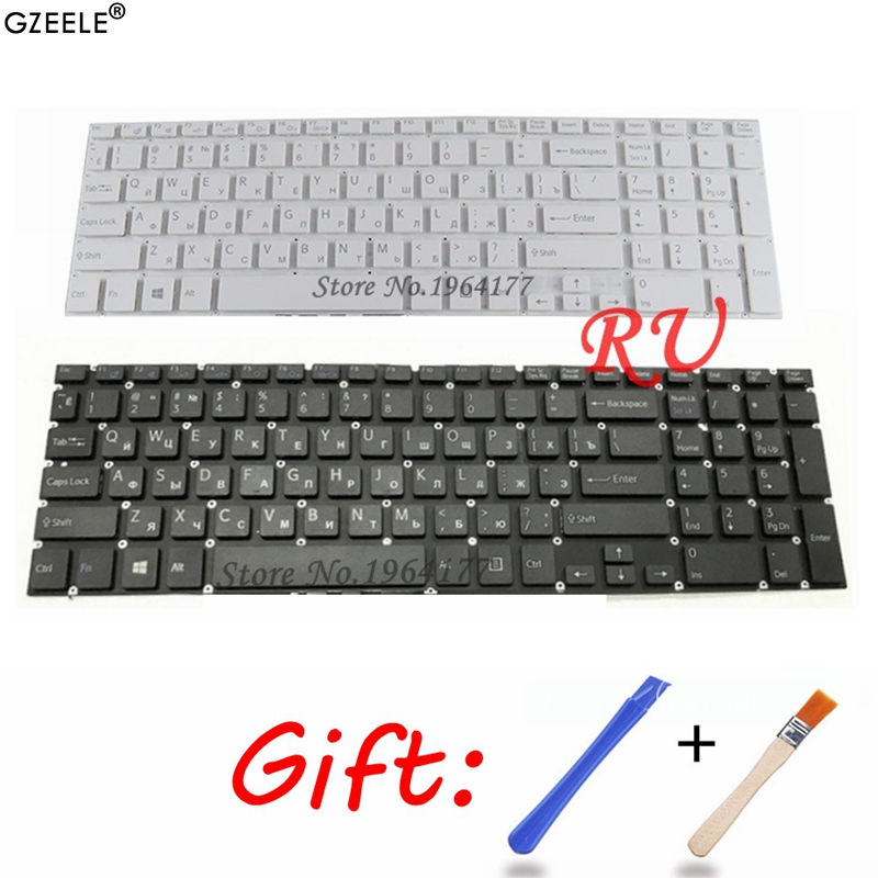 NEW Russian RU Laptop Keyboard For Sony VAIO SVF152C29V SVF153A1QT SVF152 SVF15A100C SVF152100C SVF153 SVF1521Q1RW SVF15