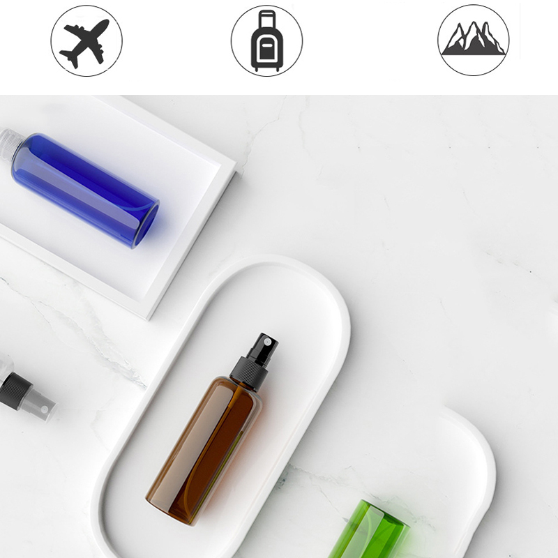 40Pcs/80Pcs 30ml+50ml Mini Empty Spray Bottles Sanitizer Dispenser Portable Press Hand Sanitizer Dispense Atomizer Spray Bottle