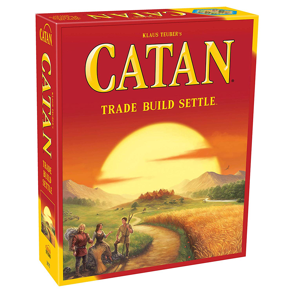 Hot Board Game Catan 5th Edition Trade Build Settle Party Cooperative Game For Home Party Playing English Version