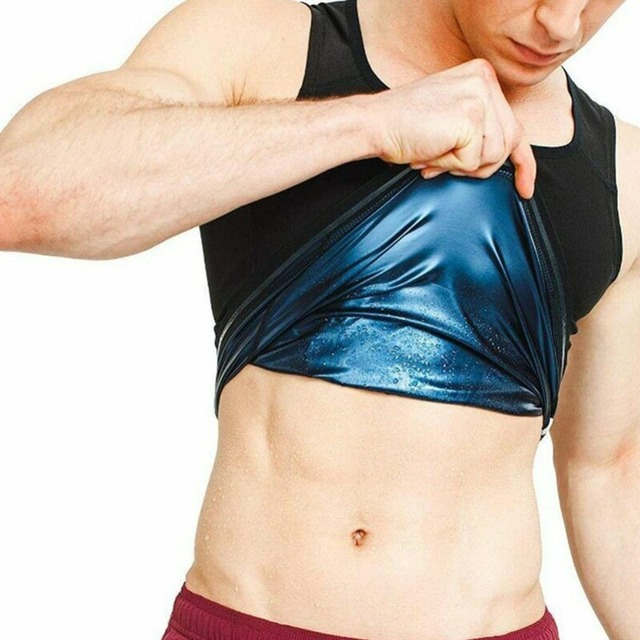 Unisex Sweat Body Suit Sweat Belt Shaper Waist Trimmer Sauna Vest Waist Trainer Corset Tank Top Shapewear Slimming Underbust