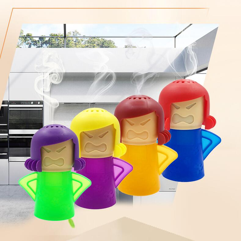 Angry Mama Oven Steam Microwave Cleaner Easily Cleans Microwave Oven Steam Cleaner Appliances Microwave Fridge Cleaning