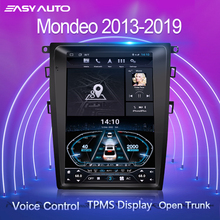 For Mondeo Fusion MK5 2013 2019 Car Radio Multimedia Video Player Navigation GPS System Andriod 10.0 with Carplay/Voice Control