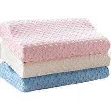Juneiour, мягкая подушка, массажер для шейного отдела, забота о здоровье, Ортопедическая подушка с эффектом памяти, волокно, медленный отскок, латексная подушка для шеи