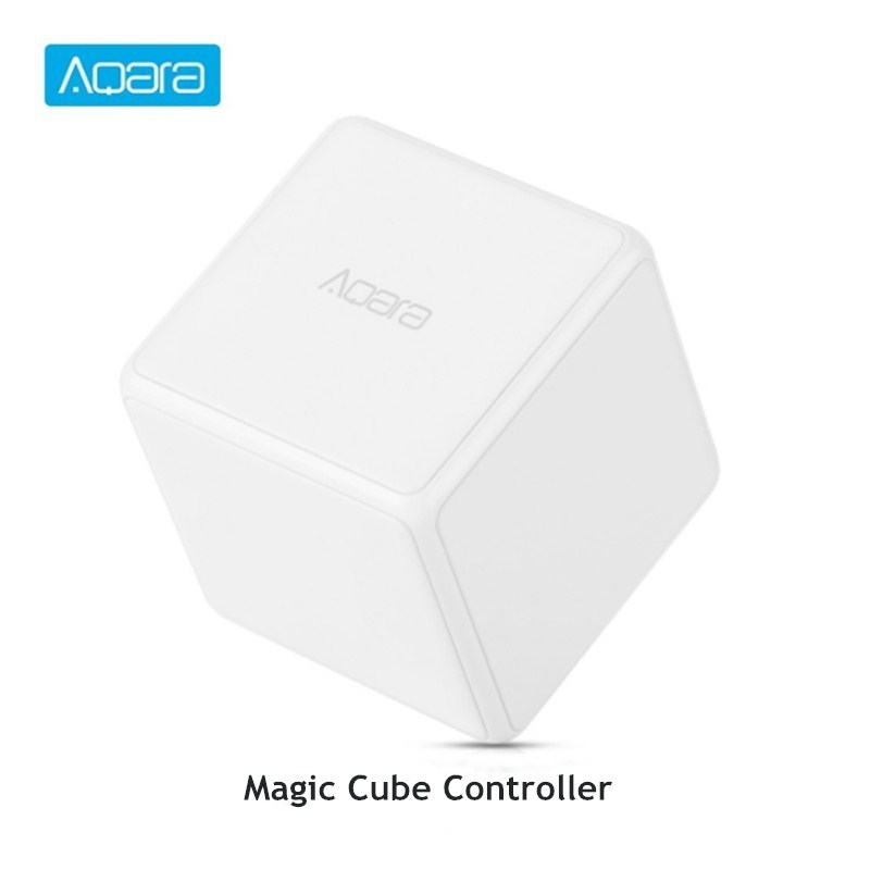 Aqara Cube Smart Home Controller 6 Actions Operation For Home Device Zigbee Version App Wireless Remote Control