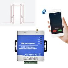 RTU5025 אלחוטי מרחוק GSM/GPRS/3G שער פותחן מפעיל מוסך דלת גישה בקר USB תקשורת נמל 100  240V