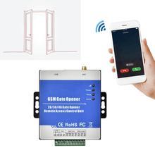 Беспроводной дистанционный контроллер доступа RTU5025 GSM/GPRS/3G, операторский привода для открывания ворот гаражных ворот, USB порт связи 100 240 В