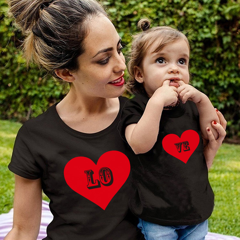 Mommy And Me Clothes Mother Daughter Matching Family Outfits T Shirt Mom And Daughter Matching Clothes