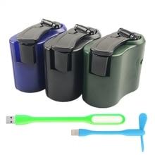 EDC USB телефон аварийное зарядное устройство для кемпинга пешего туризма спорта на открытом воздухе рукоятка зарядное устройство для путешествий оборудование для кемпинга инструменты для выживания