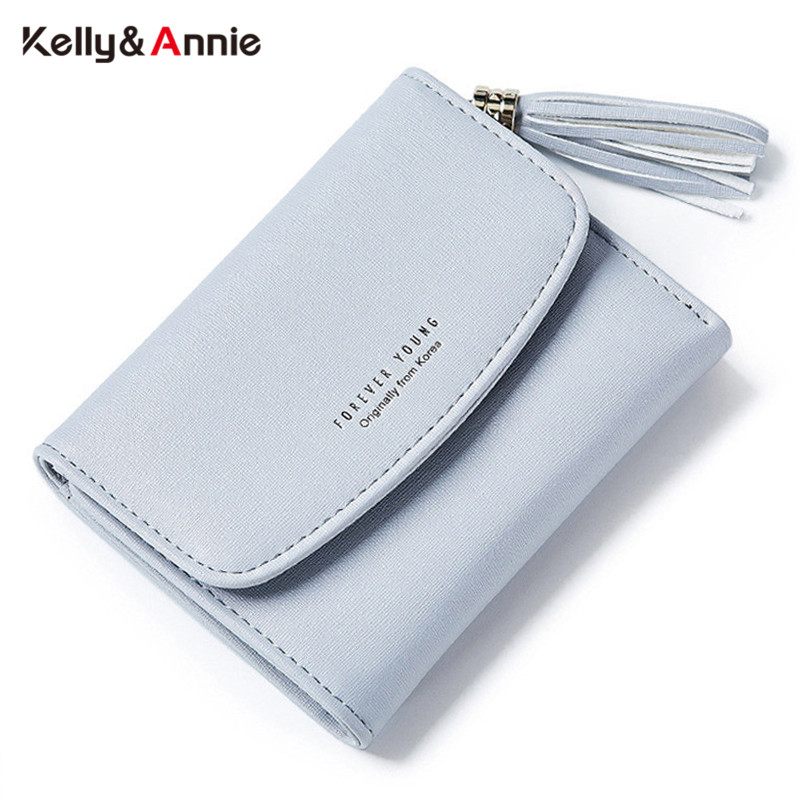Tassel Women's Wallet With Card Holder Coin Purse High Quality Short Wallets Female Brand Designer Ladies Purse Cover Carteira