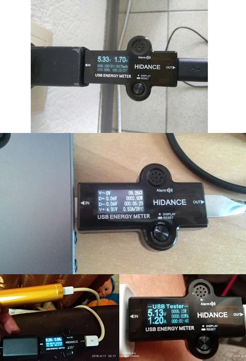 Ha1b3e4f1b7bb400a90222a9973f169068 USB 3.0 TFT 13in1 USB tester APP dc digital voltmeter ammeter voltimetro power bank voltage detector volt meter electric doctor