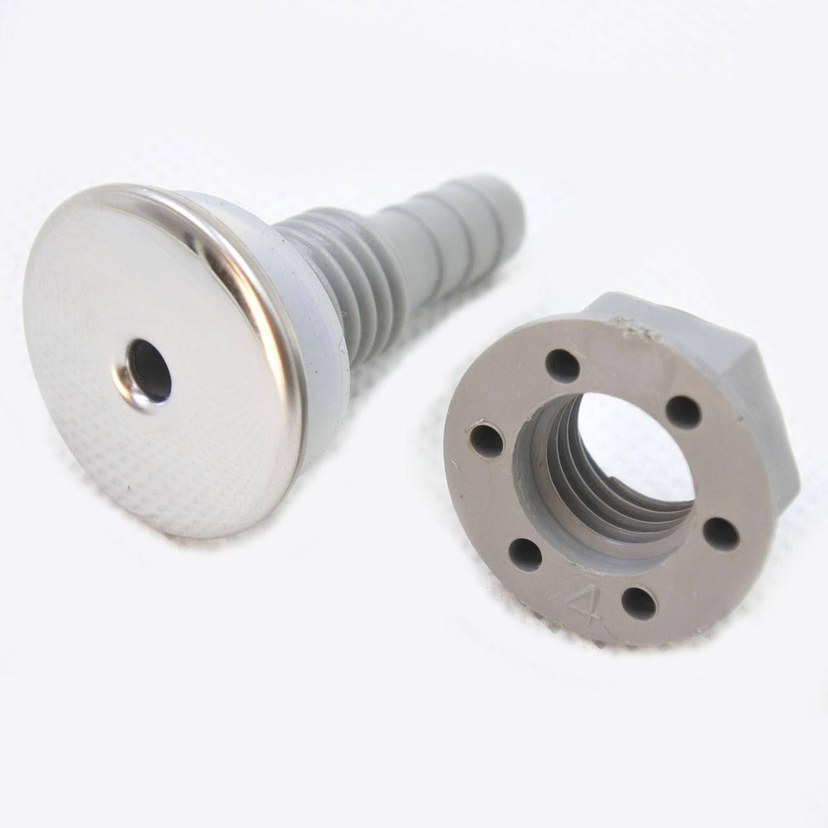 PVC Bathtub sprinkler stainless steel ABS surface straight bubble nozzle,Large pool nozzle,Spa bathtub accessories