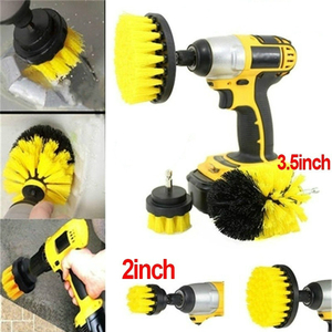 Drill Bristle Scrubber Brush Full Power Cleaning Tools Scrubber Car Tires Home Turbo Scrub Carpet Glass Auto Care Cleaning Tools
