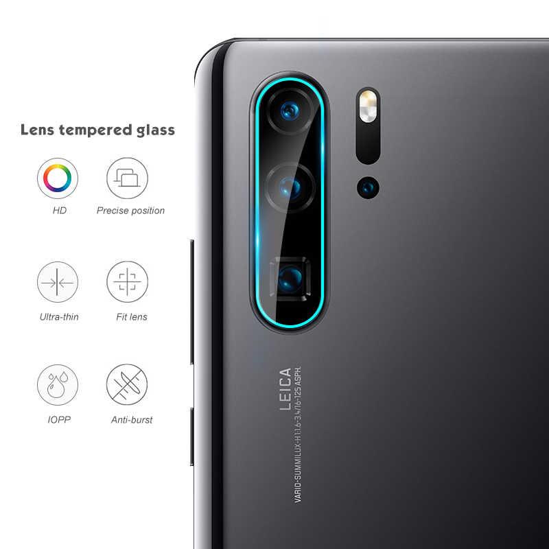 Kamera Pelindung Layar Kaca untuk Huawei P30 Pro P20 Lite Mate 10 Pro 9 Nova 4 Untuk Honor Pandangan 20 V20 V10 Lensa Film