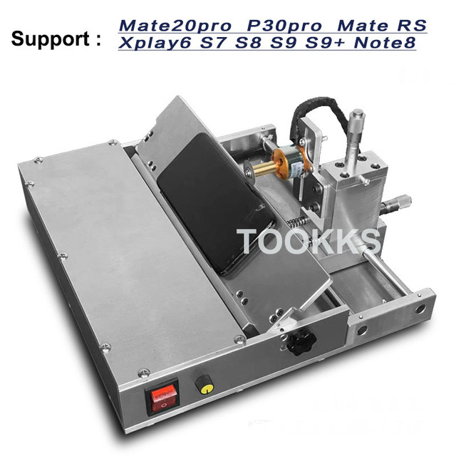 For Samsung  Huawei  Middle Frame Separator Cutter Machine LCD Screen Bezel Dismantle Frame Removal  Machine With Moulds