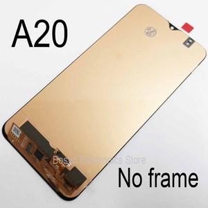 Image 2 - for Samsung A20 LCD screen display with touch with frame assembly Replacement repair parts A205 A205F SM A205F A205FN