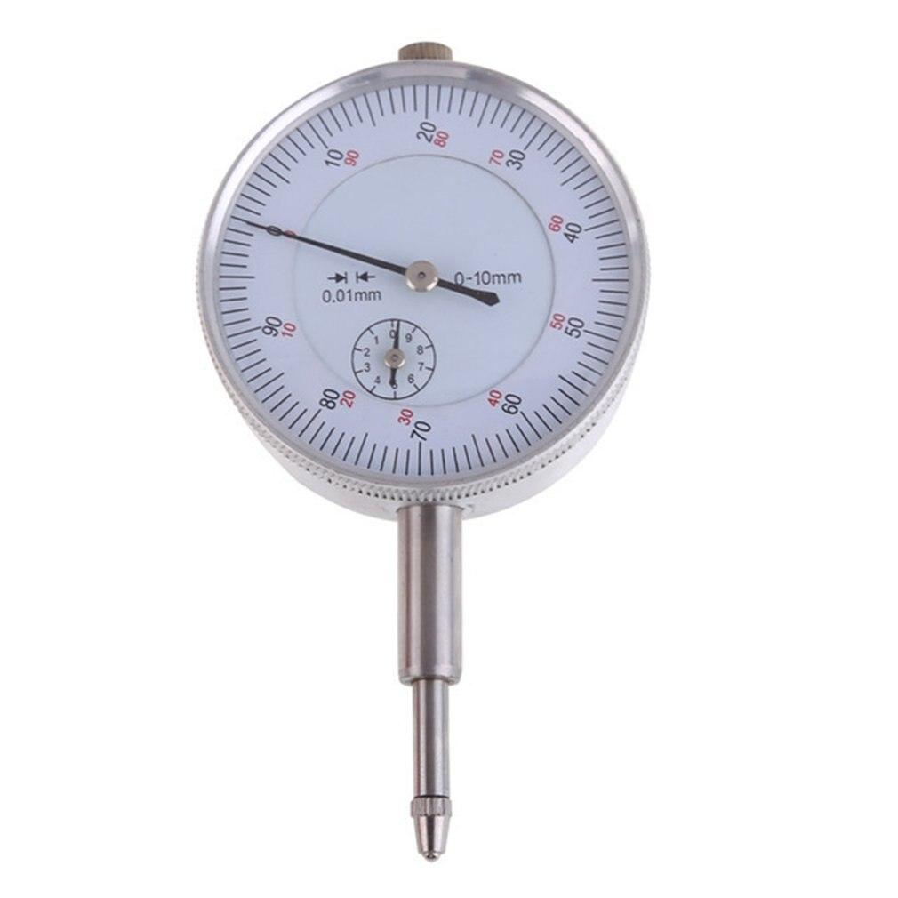 Точность 0,01 мм стрелочный индикатор датчик 0-10 мм метр точный 0,01 мм Разрешение указателю сделайте замеры инструмент