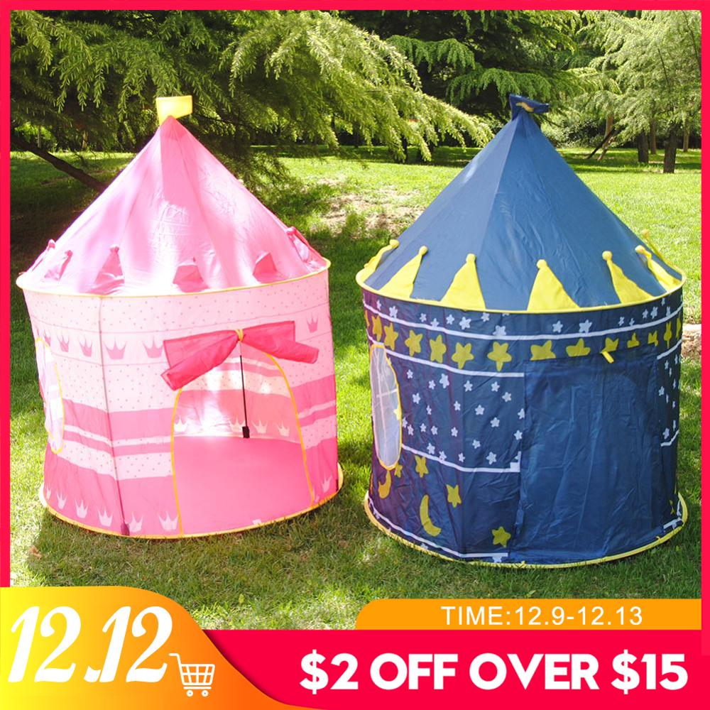 Girls Baby Tent For Kid Tipi Tent Castle Play Tent House Kids Furniture Play Toys Pool Tipi Wigwam For Kids Toys For Children
