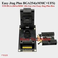 Enchufe de función 2 en 1 Z3X Jtag fácil Plus BGA 254 eMMC + UFS