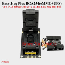 Z3X Easy Jtag Plus BGA 254   eMMC + UFS  2 in 1 Function  Socket