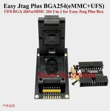 Z3x adaptador jtag plus bga 254 emmc + ufs 2 em 1 função., dispositivo de soquete