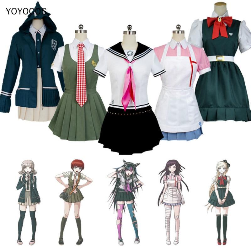 YOYOCOS Danganronpa Trigger Happy Havoc 2 Nanami ChiaKi Sonia Nevermind Koizumi Mahiru Mikan Tsumiki Mioda Ibuki Cosplay