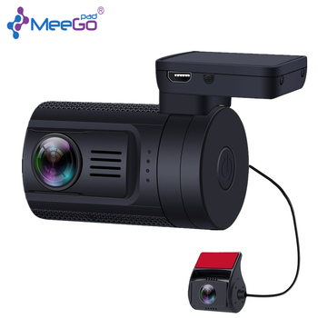 Front and rear dual recording 1080 Full HD 1.5 inch driving recorder top dash camera with gps tracking car video camera car driv image