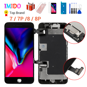 LCD Complete Screen for iPhone 7 8 Plus OEM Display Full Assembly Digitizer Replacement with 3D Touch 100% Tested No Dead Pixel for iphone 11 lcd display with 3d touch digitizer assembly no dead pixel lcd screen replacement display for iphone 11 pro max