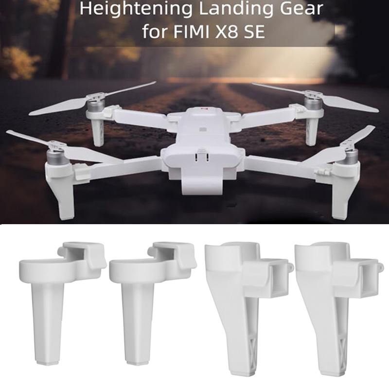 FIMI X8 SE Heightened Landing Gears Stabilizers Extended Support Leg Protector For FIMI X8 SE Drone Accessories