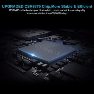 Image 5 - يدوي دعوة بلوتوث 5.0 استقبال الارسال CSR8675 AptX HD/LL 3.5 مللي متر AUX RCA الصوت محول لاسلكي للتلفزيون مكبر صوت للسيارة PC