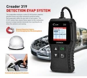 Image 3 - Launch lector de códigos de coche Creader 319 OBD2, OBDII, OBD 2, herramienta de escaneo, comprobación de código de fallas de motor, lectura cr319, CR3001, Creader 3001
