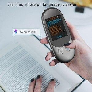 Image 1 - נייד חכם מיידי קול מקוונים מתורגמן אמיתי זמן רב שפות מיני תרגום כלי עם מצלמה סריקה מתורגמן