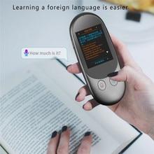 Traductor portátil, inteligente, instantáneo, de voz, fuera de línea, en tiempo Real, Multi idioma, Mini herramienta de conversión con escaneo de cámara