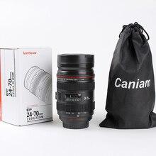 300ML Creative Telescopic Camera Lens Mug Stainless Steel Thermos Coffee Cup Vacuum Flask Mugs For Tea Travel