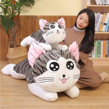 6 Styles Kitty Cat Plush Toys Chi Chi's Cat Stuffed Doll Soft Animal Dolls Cheese Cat Stuffed Toys Dolls Pillow Cushion For Kids chi s cheese cat private sweet cat papa big eyes cat plush toy doll kids toy home pillow