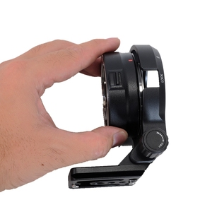 Image 3 - iShoot Lens Collar Foot with Camera Ballhead Quick Release Plate for Canon EF EOS R Tripod Mount Ring