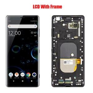 Image 3 - لسوني اريكسون XZ3 شاشة LCD الجمعية مع الجبهة حالة اللمس الزجاج ، لسوني اريكسون XZ3 H9436 H8416 H9493 شاشة LCD الأصلي