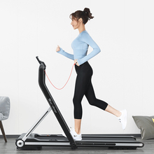 Collapsible Convenient Home Treadmill Walk Machine for Aerobic Sport Fitness Equipment mini walk smart tablet home use reduce vibration body sense control running machine super light for fitness treadmill