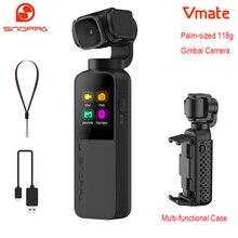 Snoppa Vmate 손바닥 크기의 짐벌 카메라 미니 3 축 4K 60fps 회전식 렌즈 무선 미리보기 및 wifi로 전화로 원격 제어